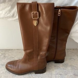 Coach Shoes - Coach Leather Riding Boots